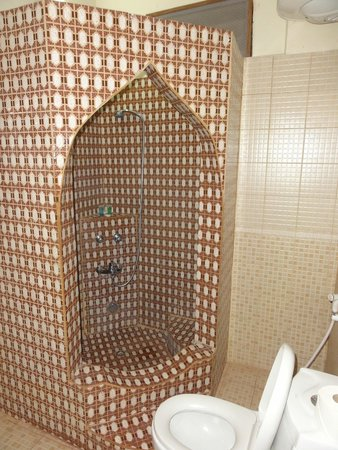 Forodhani Park Hotel : The shower