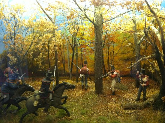 River Raisin National Battlefield Park: Skirmish in the woods