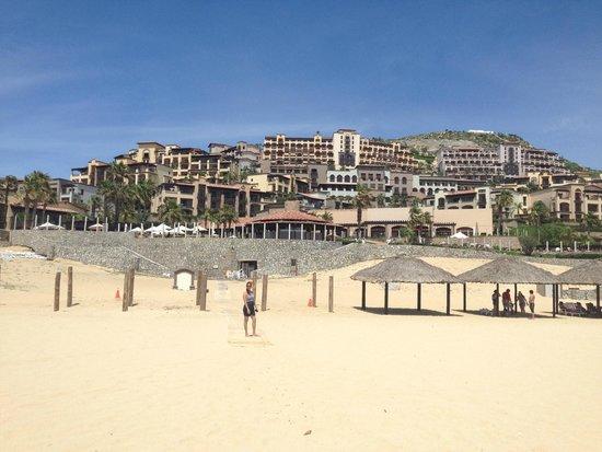 Pueblo Bonito Sunset Beach: Vista de la playa del hotel