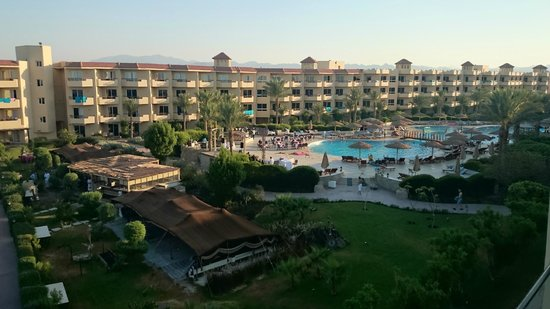 Amwaj Blue Beach Resort & Spa : view from the room