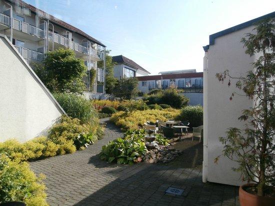 Quality Hotel Vital zum Stern: Inner courtyard