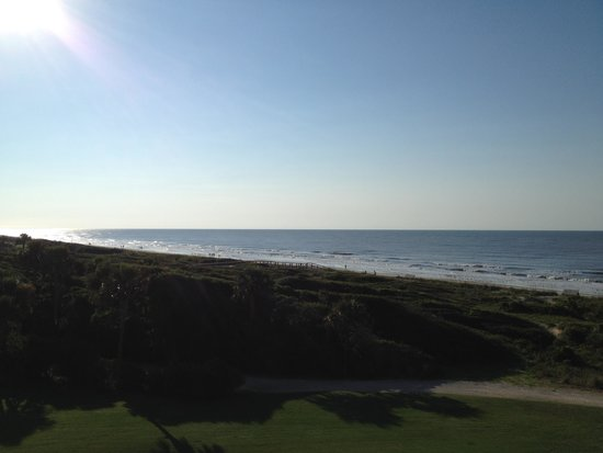 The Sanctuary Hotel at Kiawah Island Golf Resort: View from our balcony