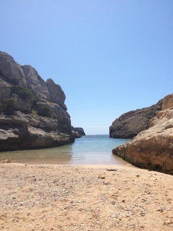 HYB Sea Club: local beach which has steps back to sea club