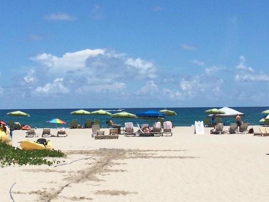 Marriott's Oceana Palms: Beautiful beach, not crowded