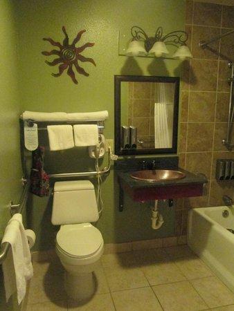 Lake Powell Resort : un peu tristoune la salle de bain