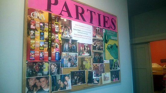 Flamingo Hostel: Parties
