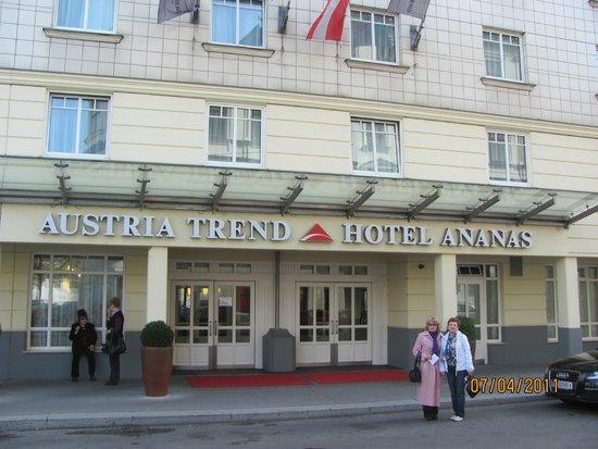 Austria Trend Hotel Ananas: вИД ОТЕЛЯ