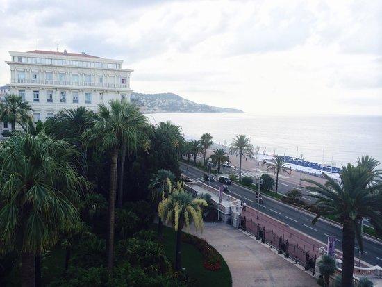 Hotel Negresco : Вид из моего номера в отеле Negresco