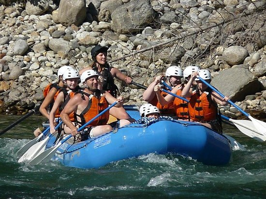 Nelson Whitewater Rafting Co. : Row row row your boat