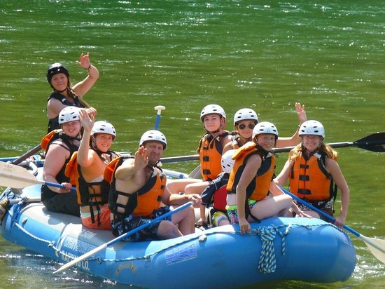Nelson Whitewater Rafting Co. : On our way