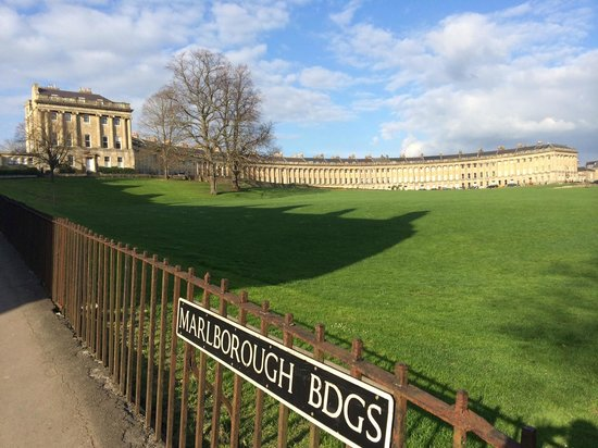 The Royal Crescent Hotel & Spa : View of the Royal Crescent - gorgeous