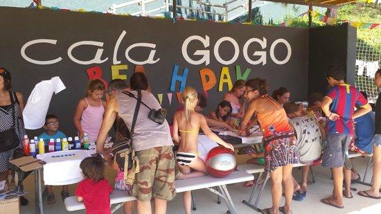 Camping Cala Gogo: Mini Club at the beach