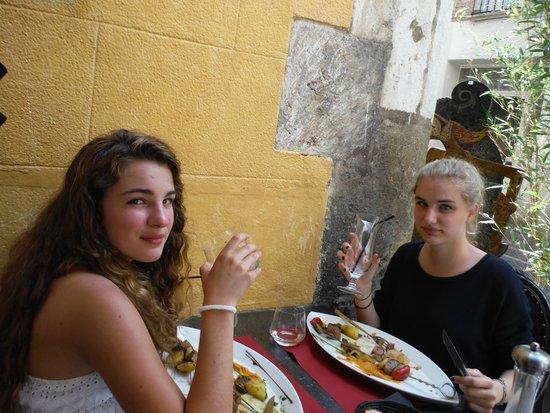 Le Boudoir : Déjeuner en famille au Boudoir !!!