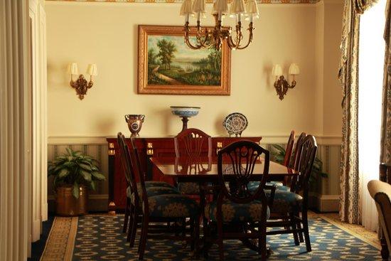 Willard InterContinental Washington: Dinning room