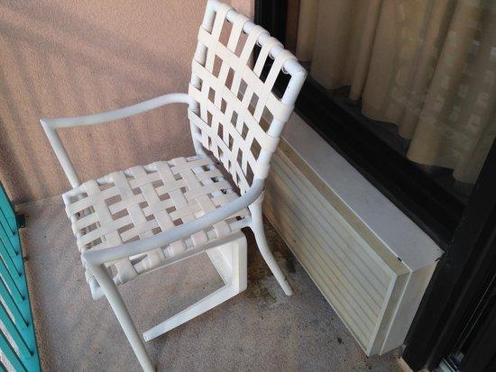 Sandcastle South Beach Resort: Balcony Chair