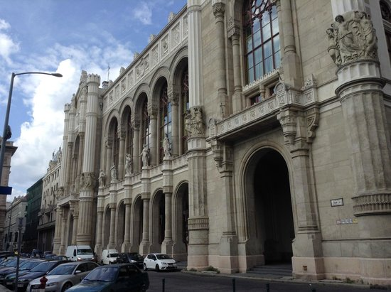 Danubius Hotel Gellert: the front