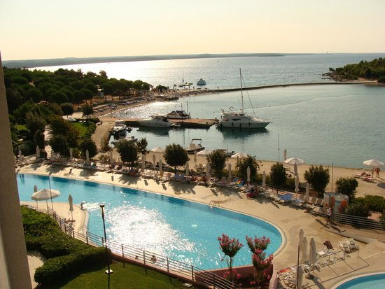Island Hotel Istra: View from our room
