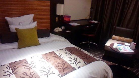 ANA  Crowne Plaza Hotel Chitose : 1009号室(喫煙)