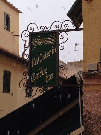 Caffescondido : Insegna