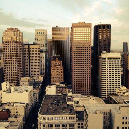 Grand Hyatt San Francisco: San Francisco vu du 28eme etage