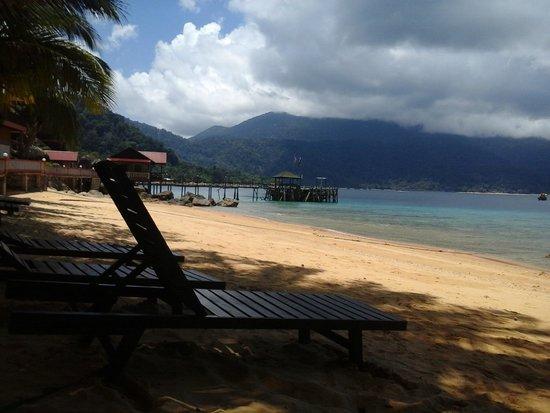 Panuba Inn Resort : view from beach