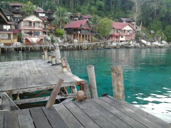 Panuba Inn Resort: view from jetty