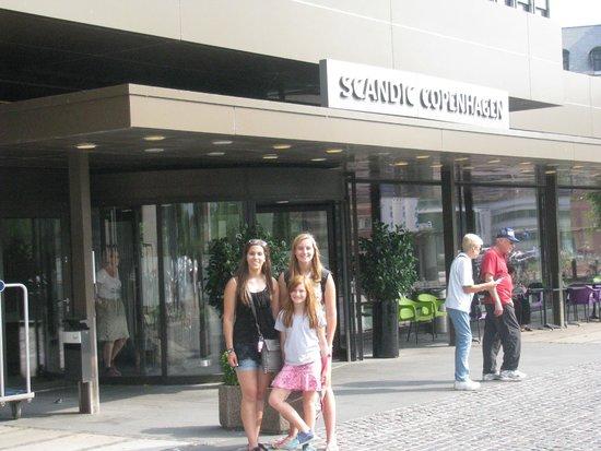Scandic Copenhagen : Front of hotel
