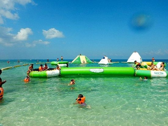 Mr Sanchos Beach Club Cozumel: Fun for both kids and adults!