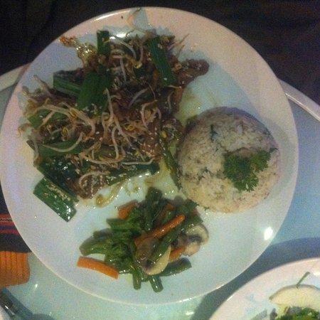 Warung Kecil: stir fried black pepper beef