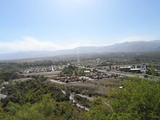 Parque General San Martin : Vista panorâmica de Mendoza