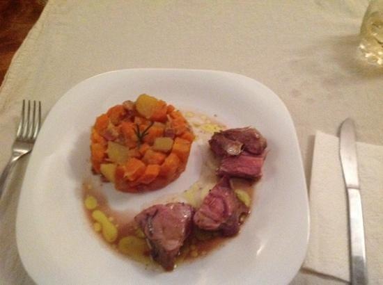 lamb main course.....delicious!