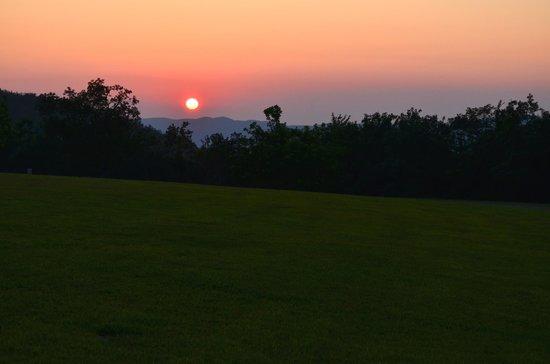 Queen Wilhelmina State Park: Sunset