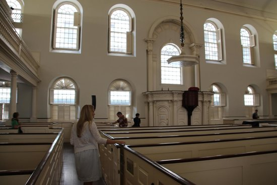 Old South Meeting House: Inside the Old Meeting House