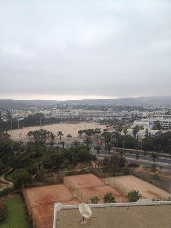Anezi Tower Hotel : Вид из окна отеля Анейзи тауэрм