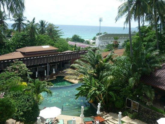 Karona Resort & Spa: Вид с моего балкона