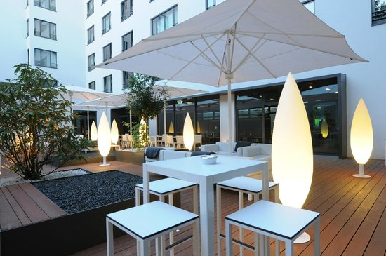 SANA Berlin Hotel: Patio / Courtyard