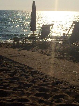 Hotel Le Palme: Pomeriggio in spiaggia Lido Le Palme