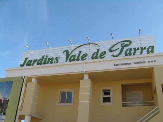 Jardins Vale de Parra: Entrance