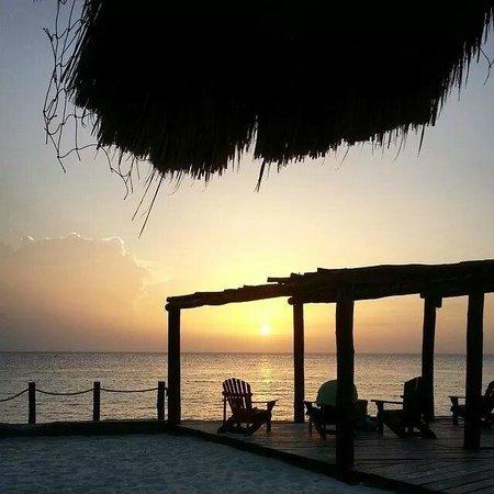 Playa Azul Golf, Scuba, Spa: My favorite spot to sit at sunset
