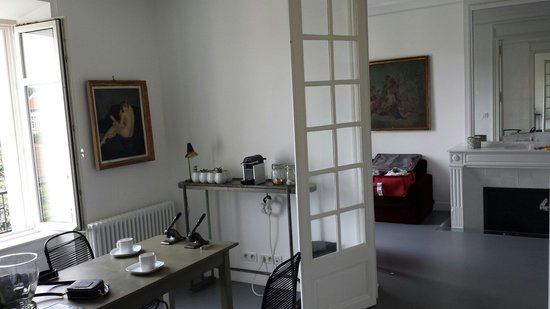 L'Hôtel Particulier : Fantastic hotel, location and host