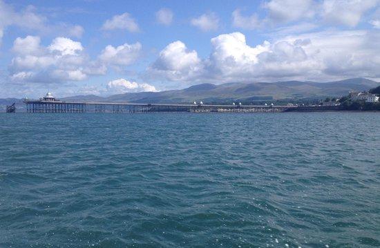 Rib Ride: Bangor pier