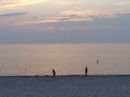 Van Buren State Park : Dusk at the beach