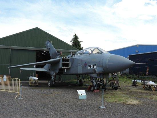 Coventry, UK: Tornado GR4 being prepared