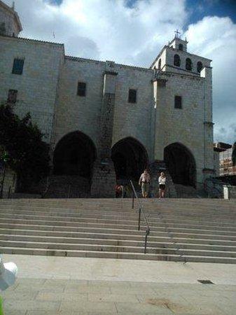 Catedral de Santander: Zugang.