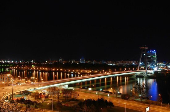 Bratislava Old Town: Night view