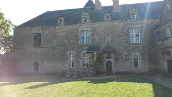 Chateau of Talcy: Château vue cour intérieure