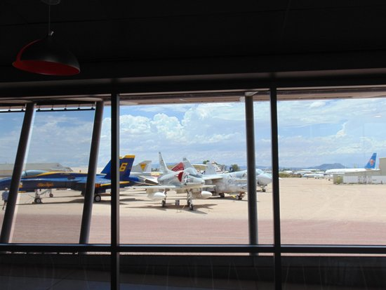 Pima Air & Space Museum: view from restaurant