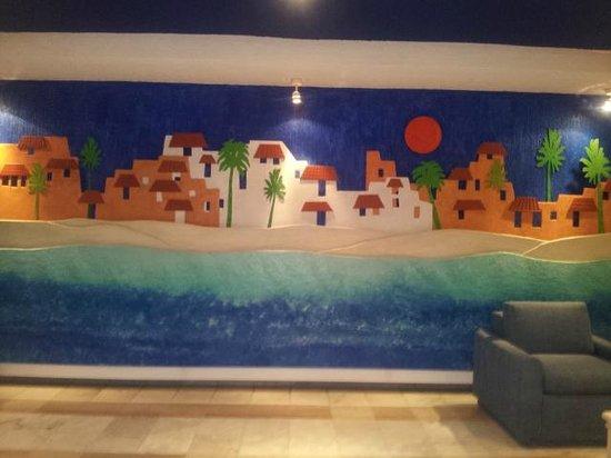 Park Royal Cancun: Hall da entrado da Torre/quarto