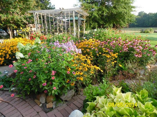 Piney Hill Bed & Breakfast: Flower Garden