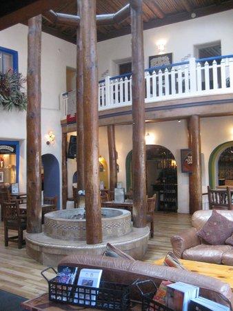 The Historic Taos Inn: Lobby and Adobe Bar